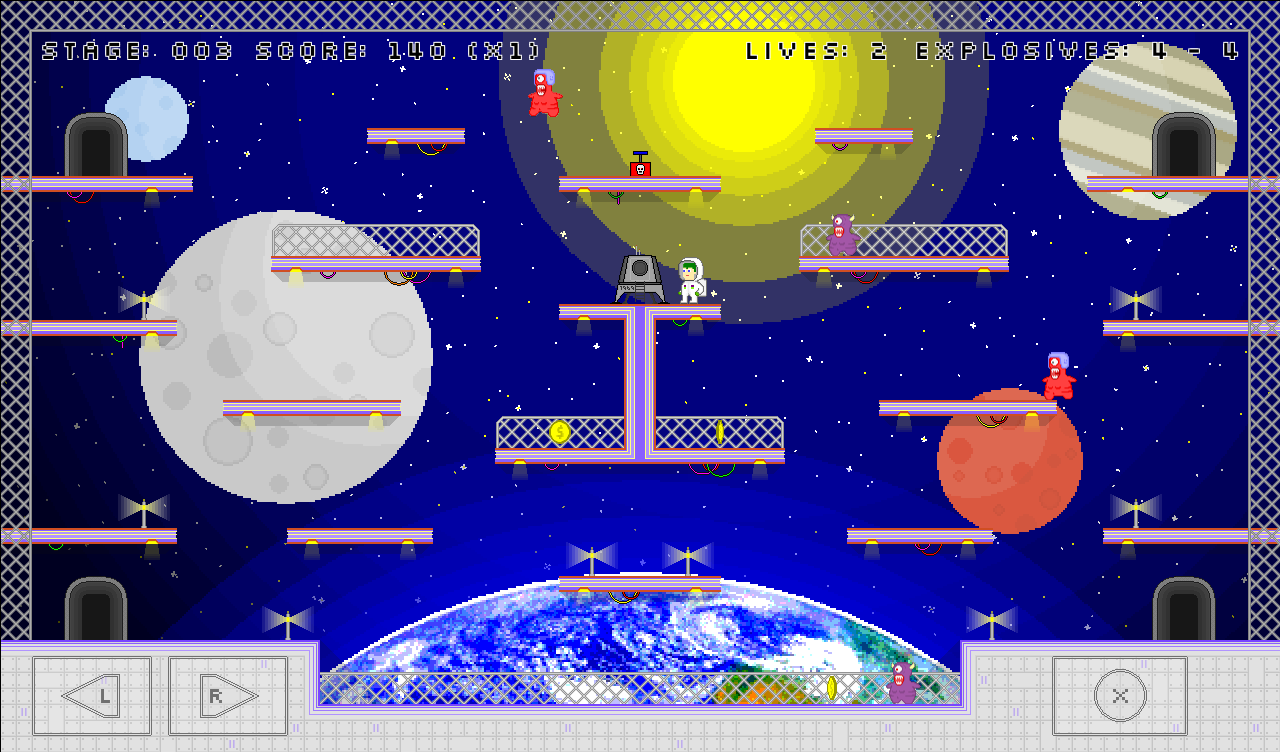 Space Bastards Space Level